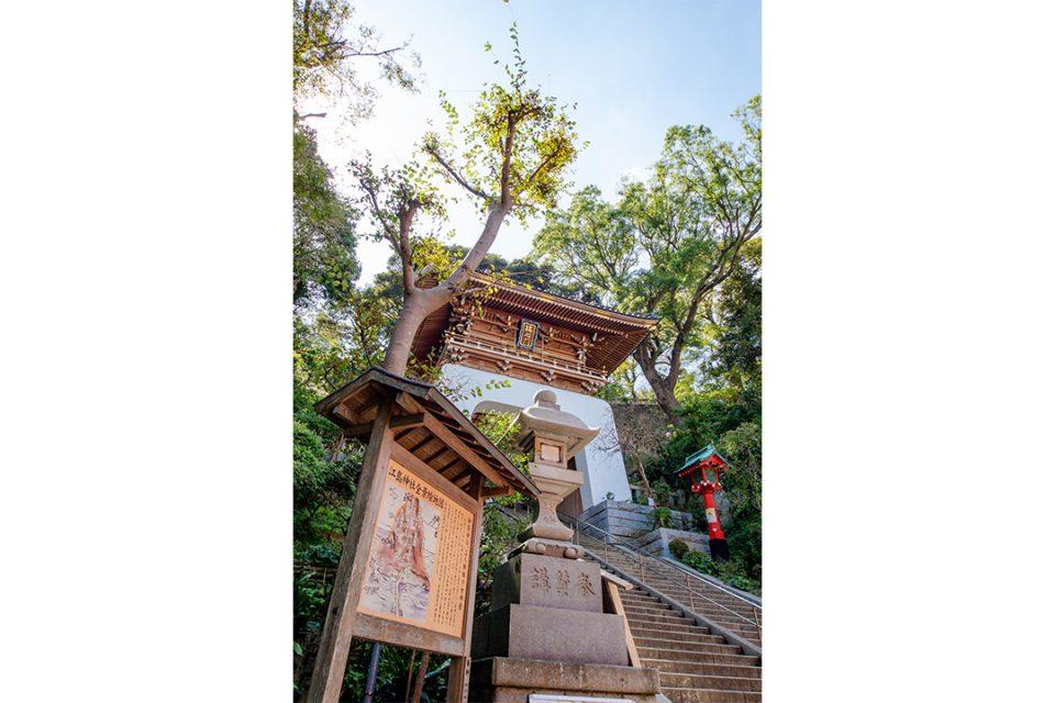 江島神社の瑞心門