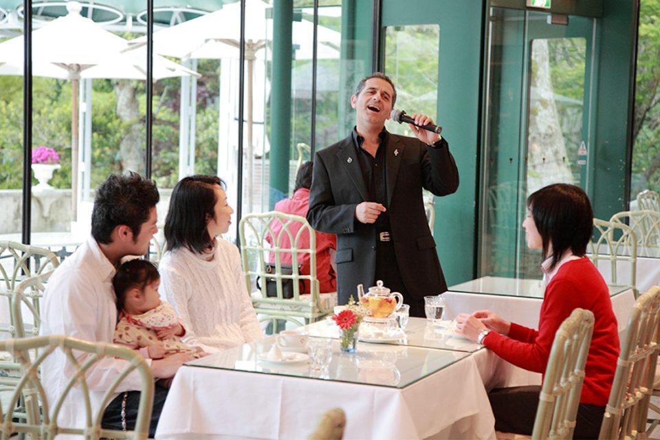 箱根ガラスの森美術館のカフェレストラン