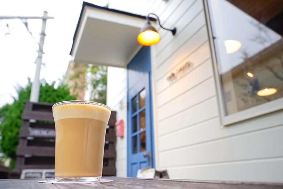 カフェルオントのカフェラテ