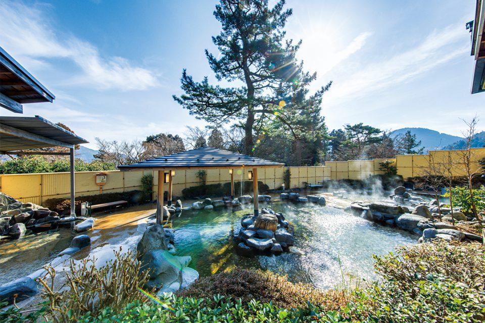 森の湯の温泉
