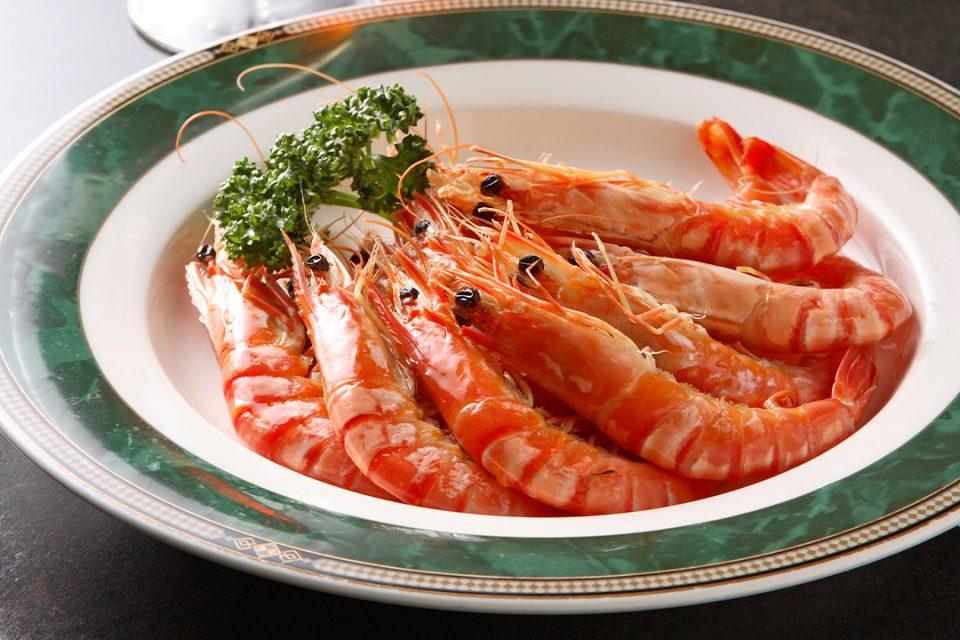 中国料理太原の天然ボイル海老