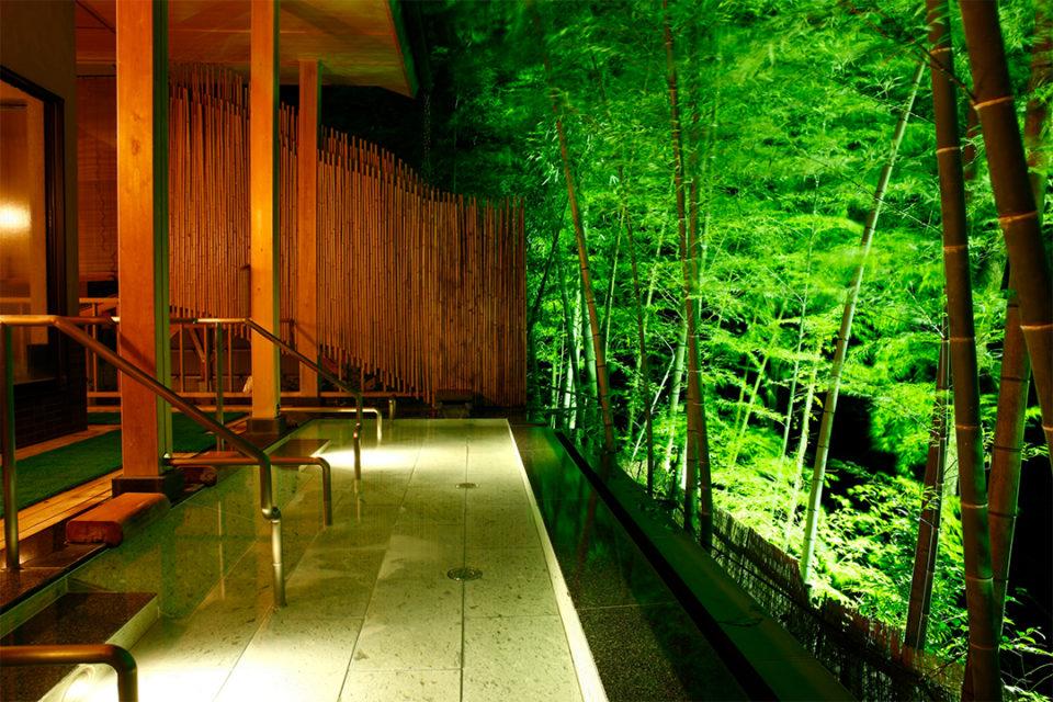 小田急 ホテルはつはなの女性専用露天風呂(寝湯)