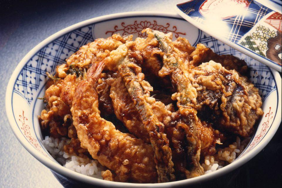 天ぷらひろみの小津丼