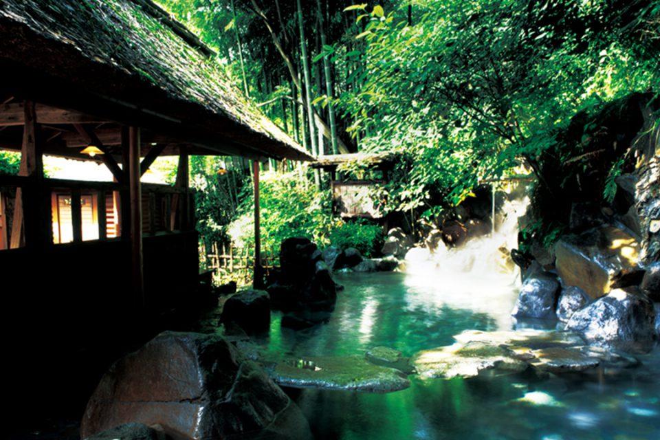 天山の温泉1