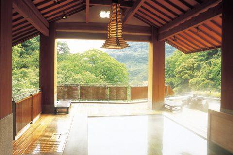 湯屋一休の温泉1