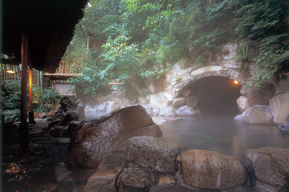 天山の温泉2