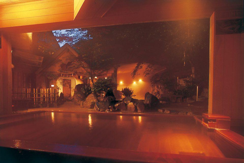 湯屋一休の温泉3