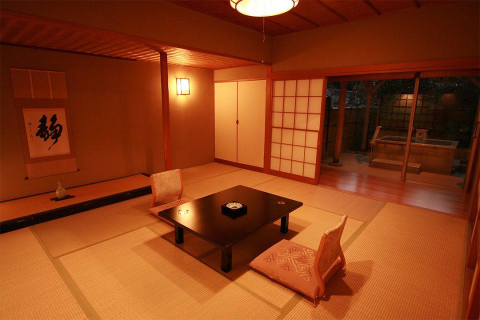 ホテルおくゆもとの客室2