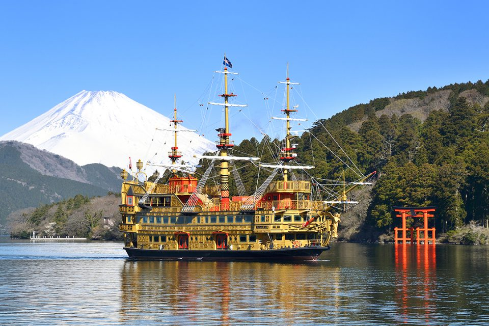 箱根海賊船のクイーン芦ノ湖