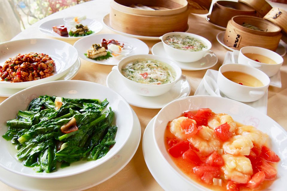 華正樓鎌倉の料理