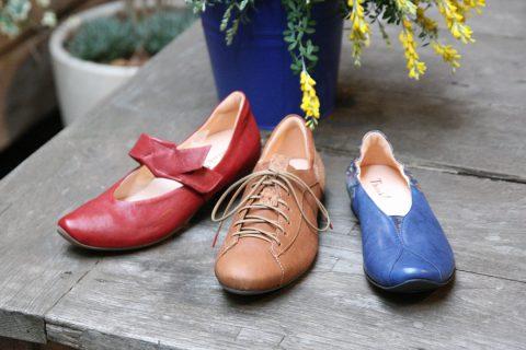 ドイツ足の健康館赤い靴元町本店の革靴