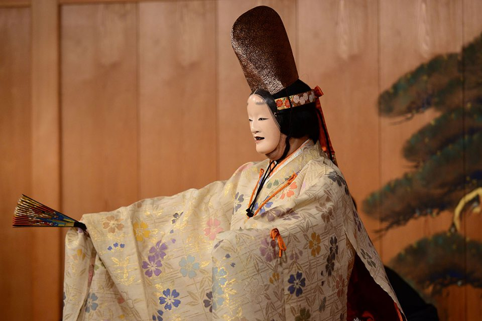鎌倉能舞台の公演の様子2