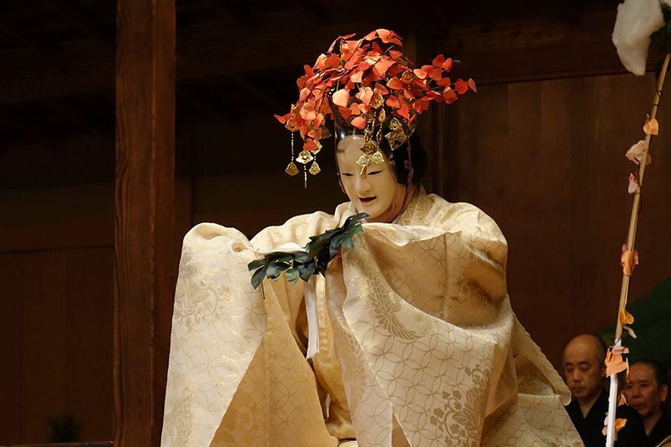 鎌倉能舞台の公演の様子3