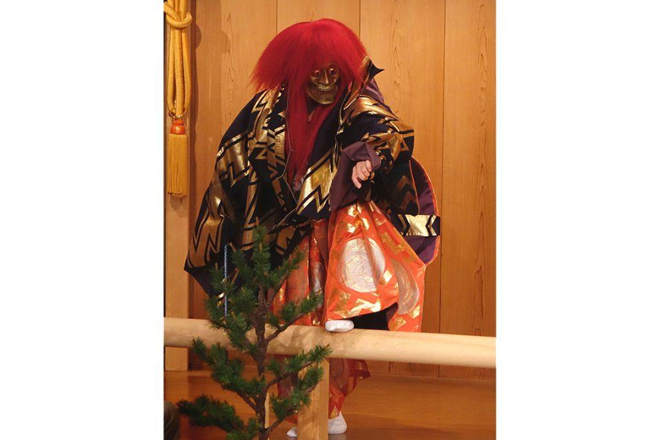 鎌倉能舞台の公演の様子4