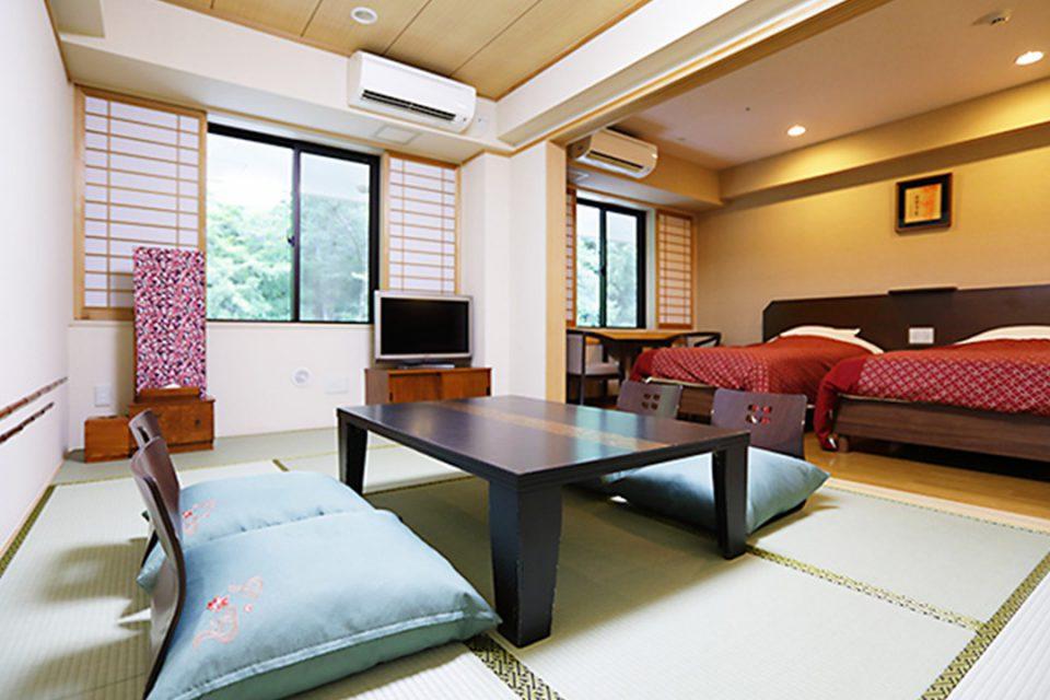 天成園の客室2