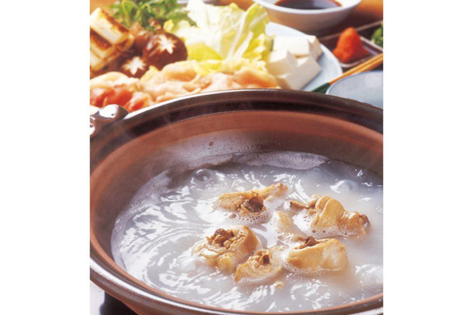 滋養料理山法師の軍鶏鍋