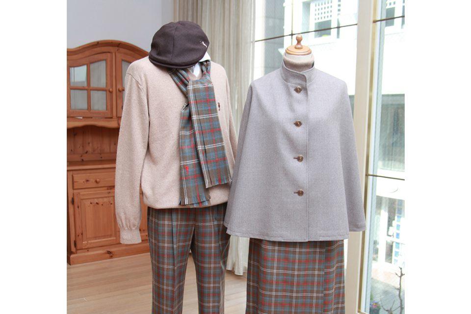 フクゾー洋品店の冬服
