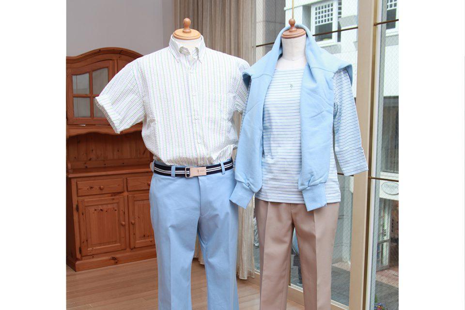 フクゾー洋品店の春服
