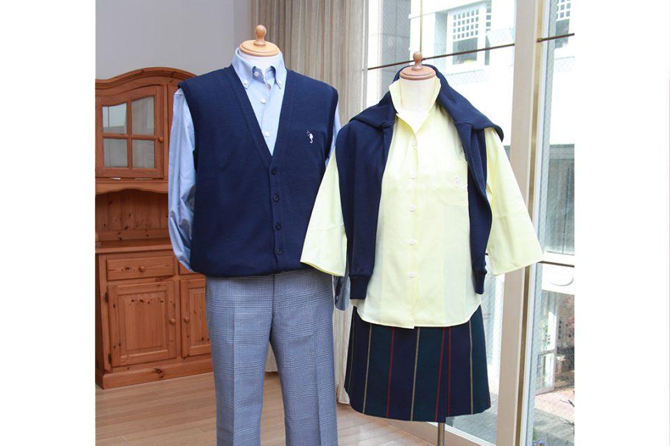 フクゾー洋品店の秋服