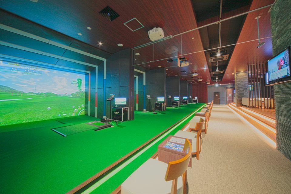 湘南ゴルフリゾートのトレーニングゾーン