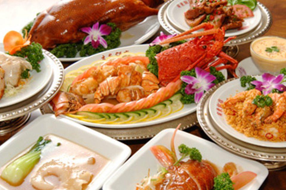 廣東飯店のコース料理