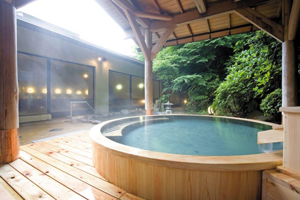 湯本富士屋ホテルの女性用露天風呂