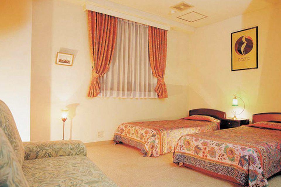 ホテルシャングリラ鶴岡の客室1