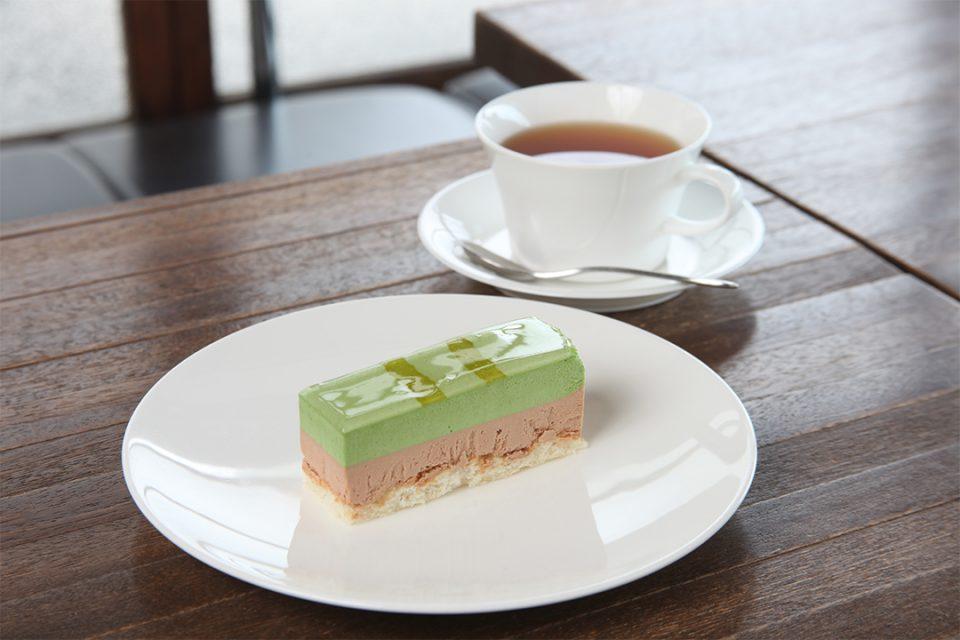 オカシ0467のケーキとドリンク