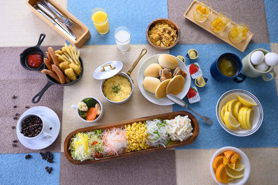 ホテルマイステイズ横浜のごはん