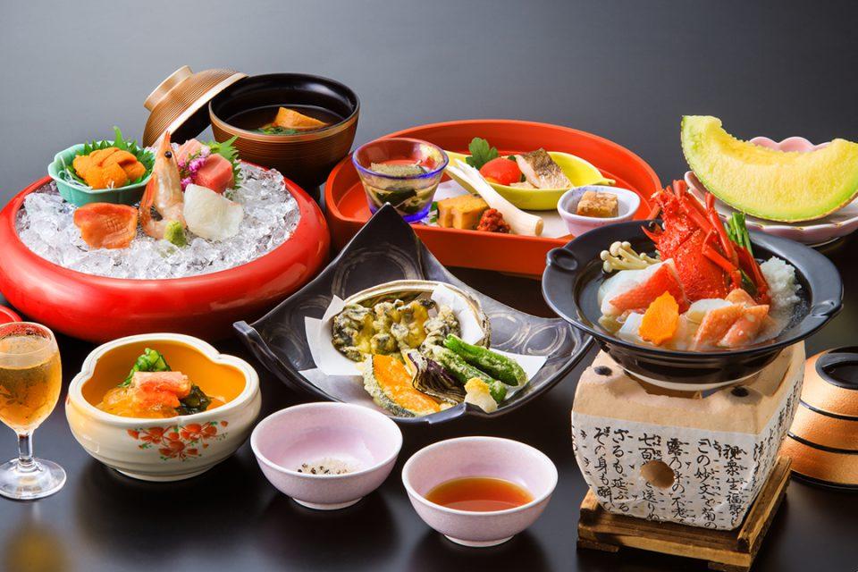 ホテル河鹿荘の料理イメージ