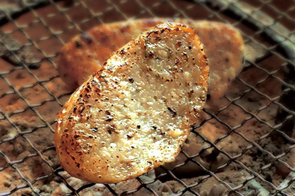鱗吉の箱根山薬自然薯揚げ