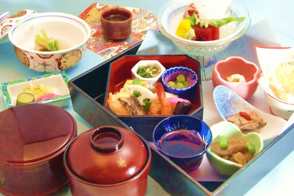 日本料理鯉之助の料理1