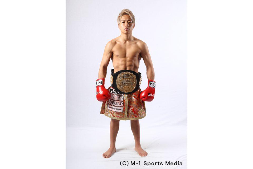 K-1チャンピオン武尊選手