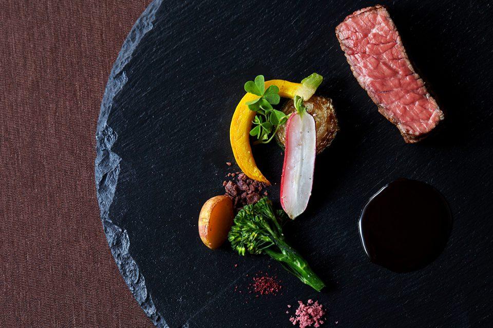 アマンダンブルー鎌倉の料理1