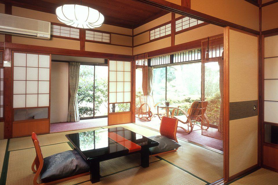 桐谷箱根荘の客室2