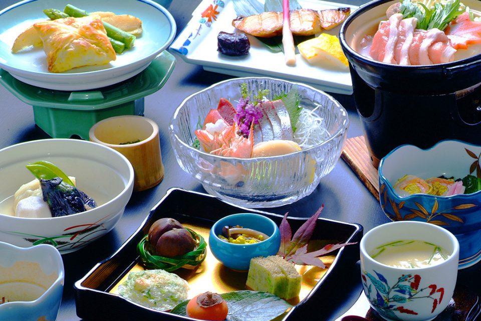 桐谷箱根荘の料理