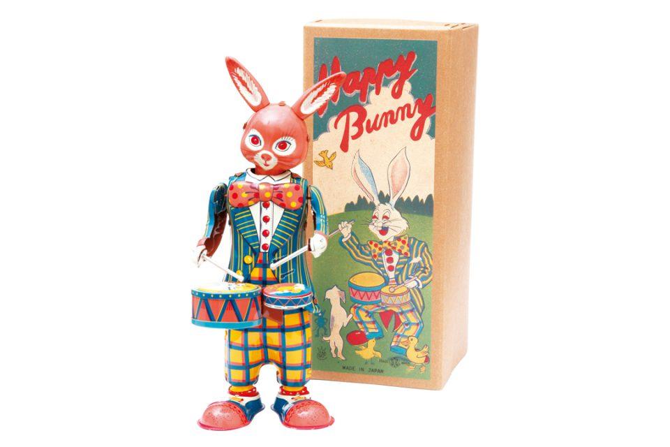 happybunnyのブリキのおもちゃ