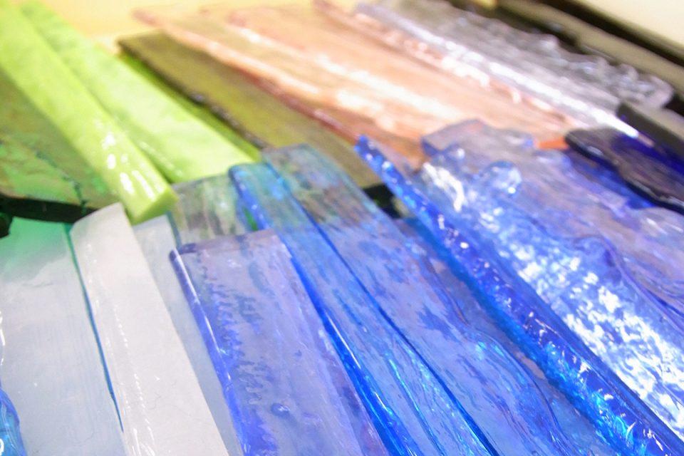 上田工芸のガラス素材イメージ