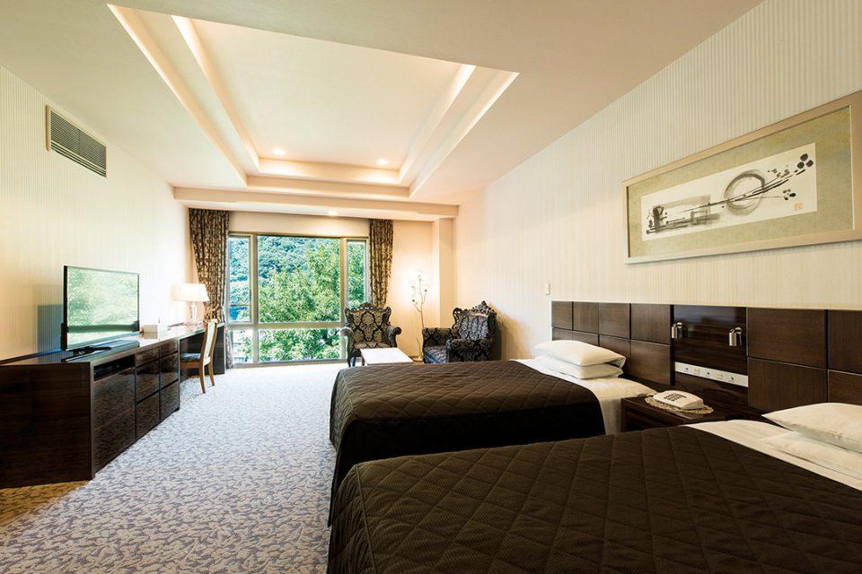ホテルマイユクール祥月の展望風呂付スーペリアルーム