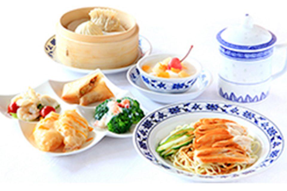 重慶茶樓のレディースランチ