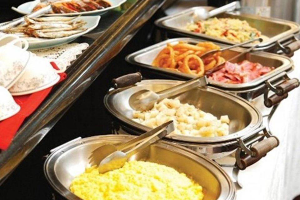 ホテルルートイン横浜馬車道の朝食
