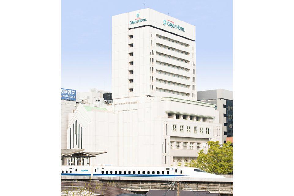 新横浜グレイスホテルの外観