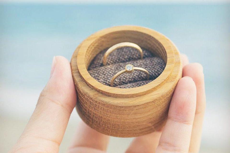 鎌倉彫金工房で作った指輪2