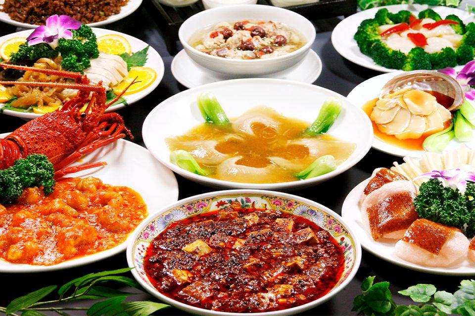 福満園新館の料理
