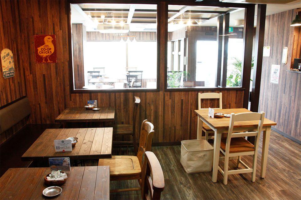 バニヤンツリーコーヒーハウスの店内