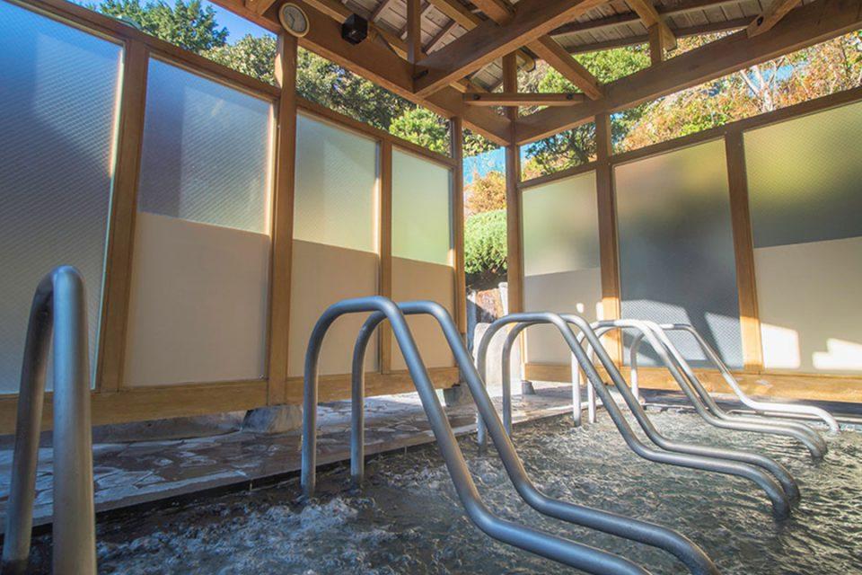 湯の里おかだの風の湯屋寝湯
