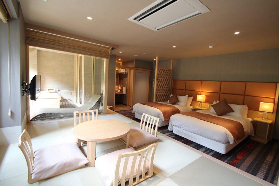 箱根湯宿然の客室
