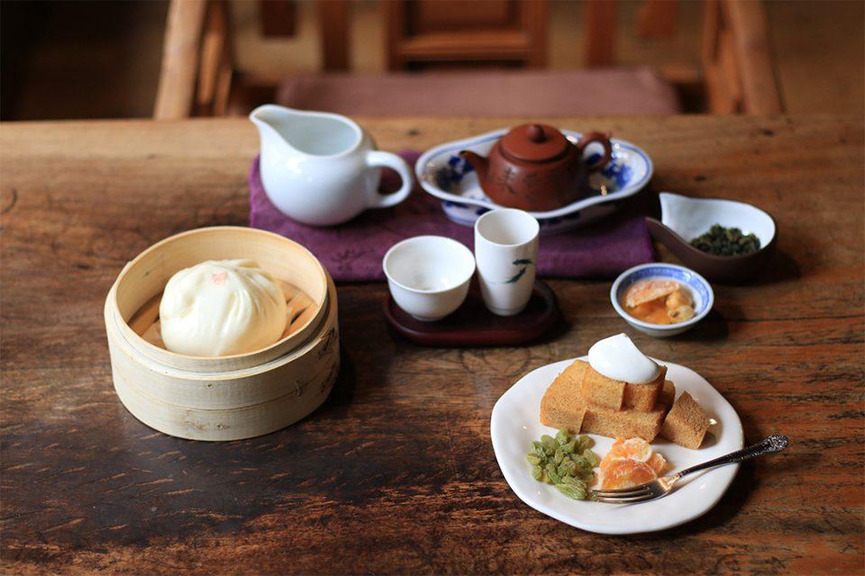 悟空茶荘の料理1
