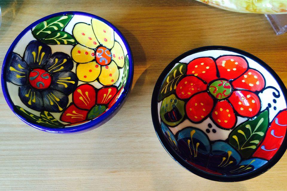 アルティジャーノ江ノ島の皿