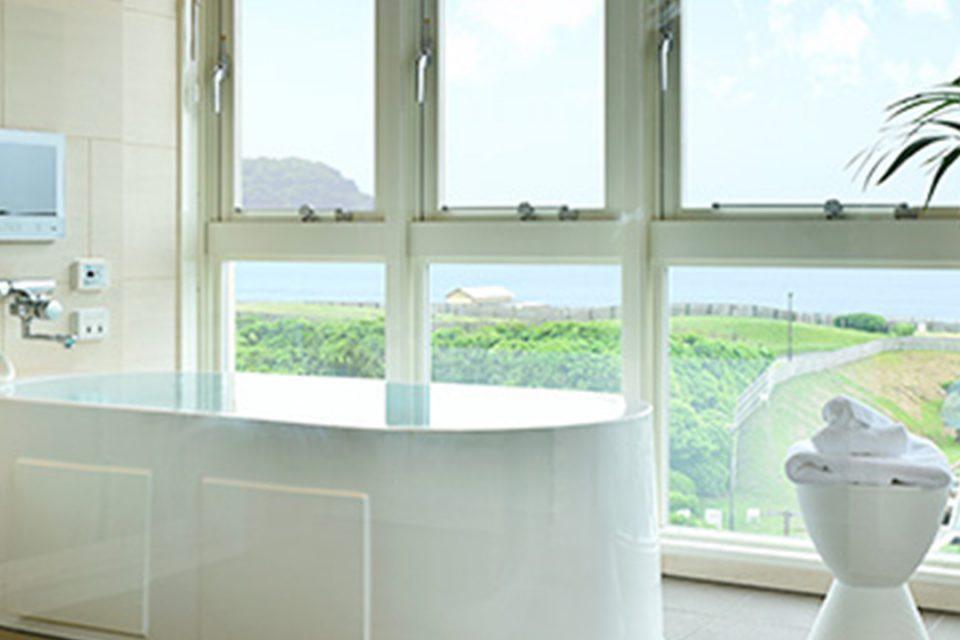 ブレスホテルの客室風呂